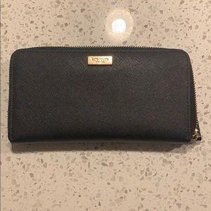 Kate Spade ♠️Wallet Black leather